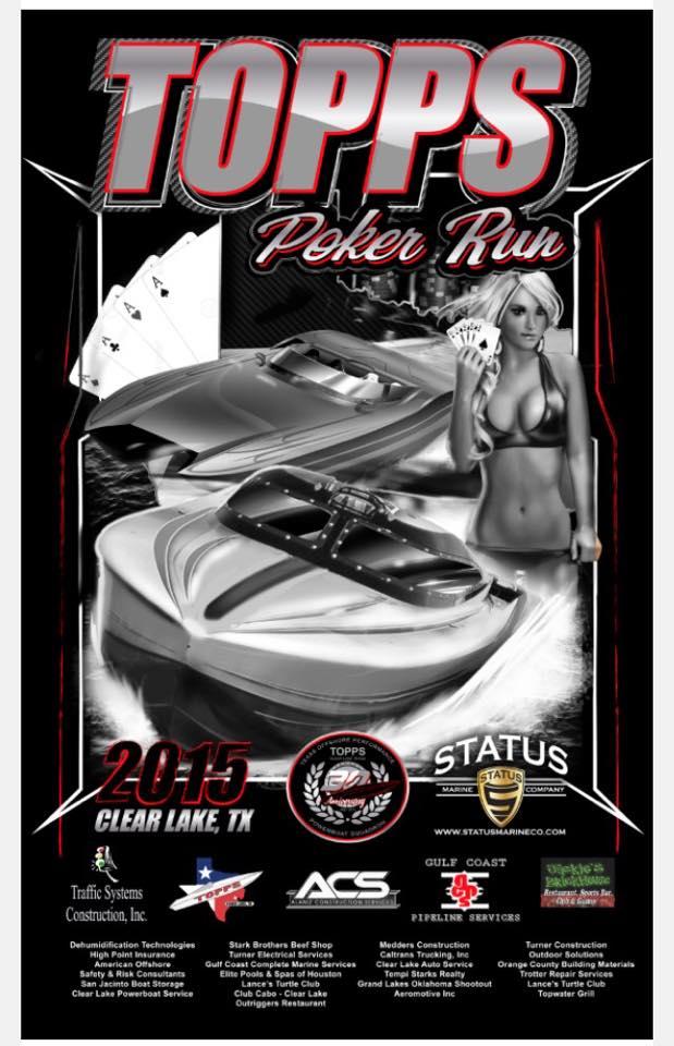 Clear lake tx poker run