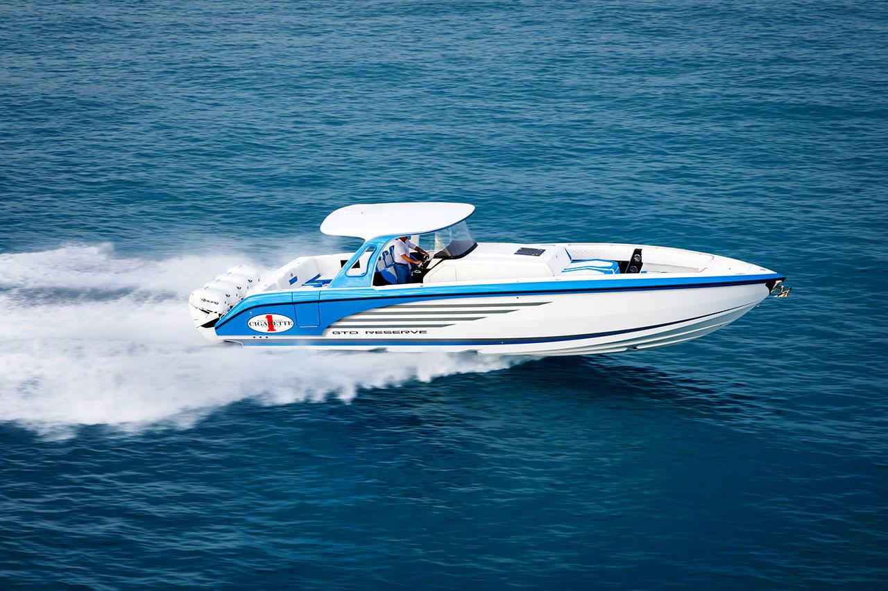 Cigarette s new 2018 42 gto reserve to debut at miami - Miami boat show ...