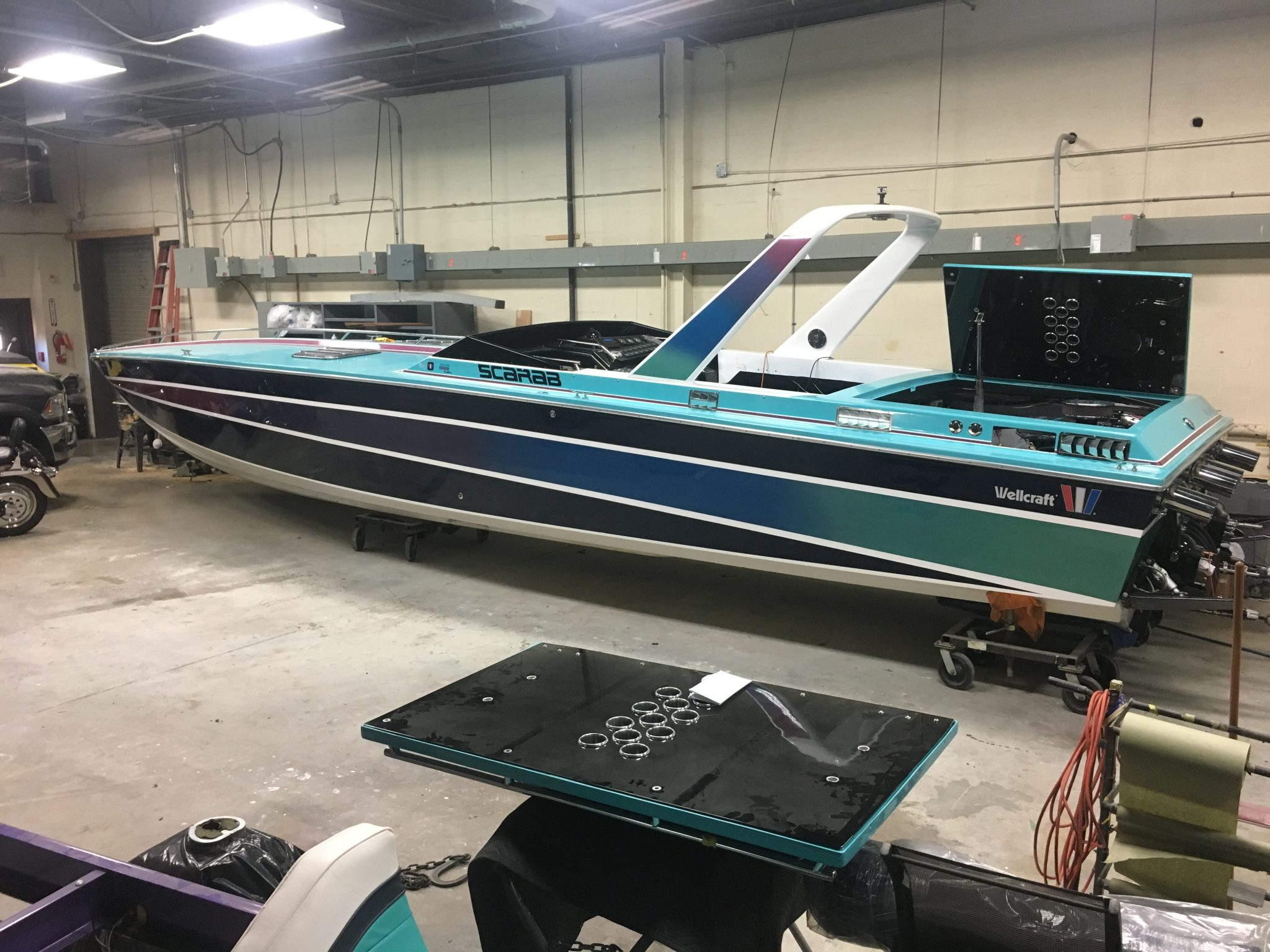 1986 Miami Vice Edition Scarab Completely Restored and