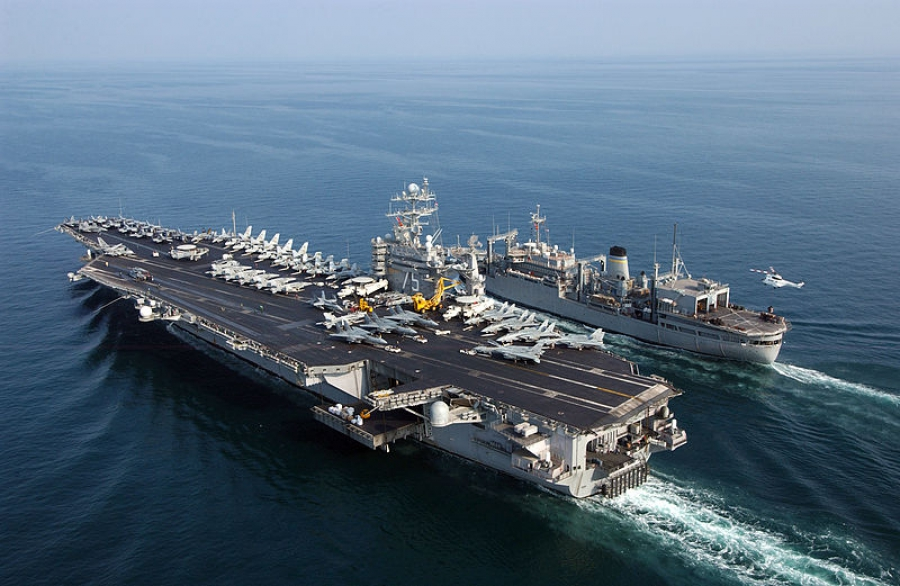 2 U S  Aircraft Carriers Underway to Med to Combat ISIS - Powerboat