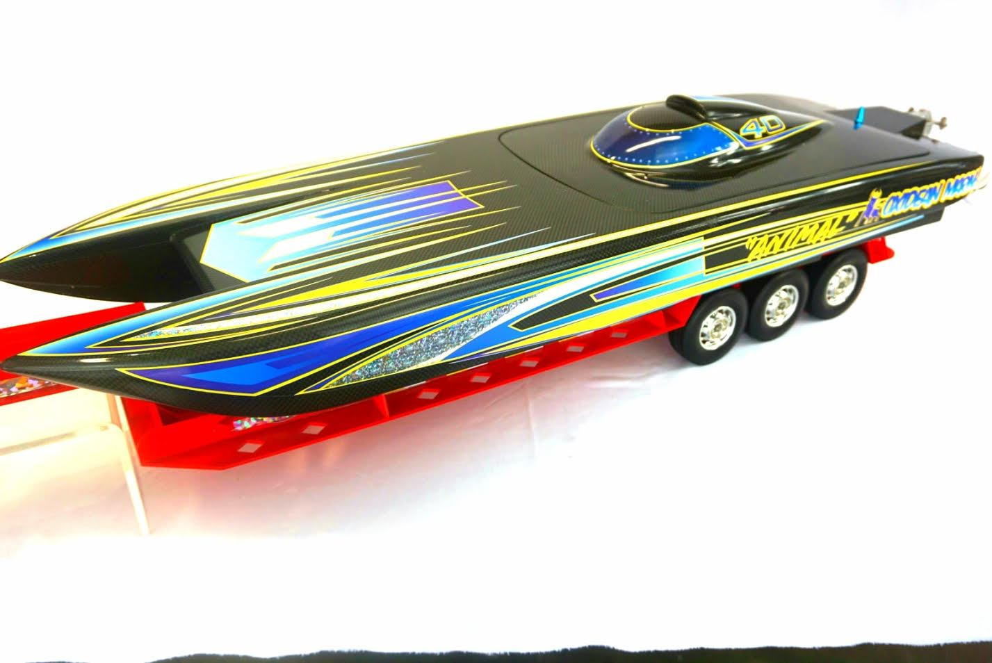 Oxidean Upgrades RC Catamaran Model and Graphics - Powerboat Nation